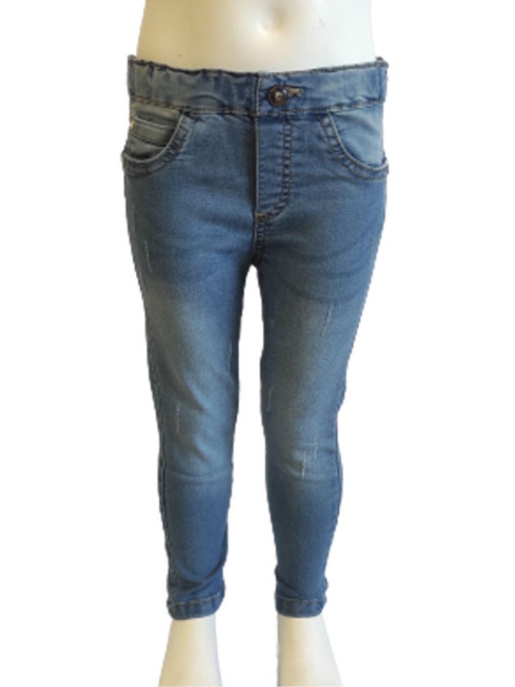 Pantalone Denim Stretch Neonata 21J5371
