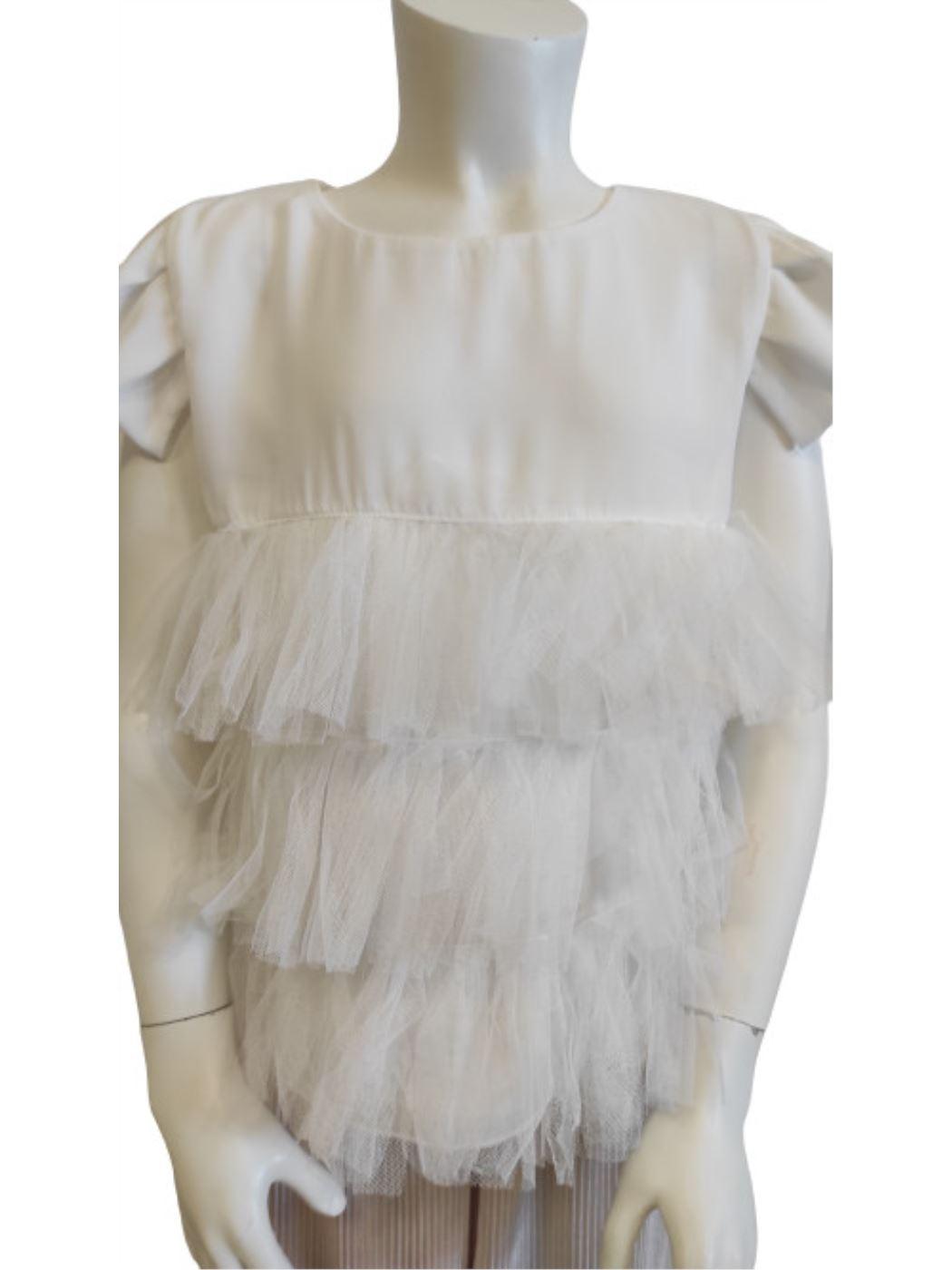 Camicia Crepe Bambina 61H5505