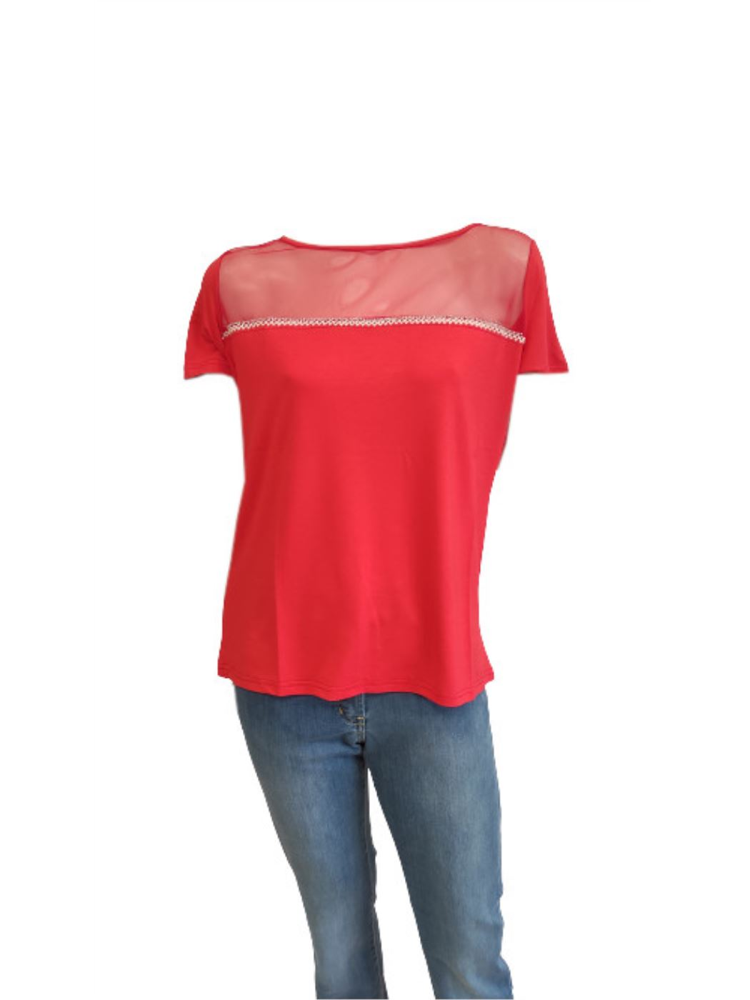 T-Shirt Donna Manica Corta C610