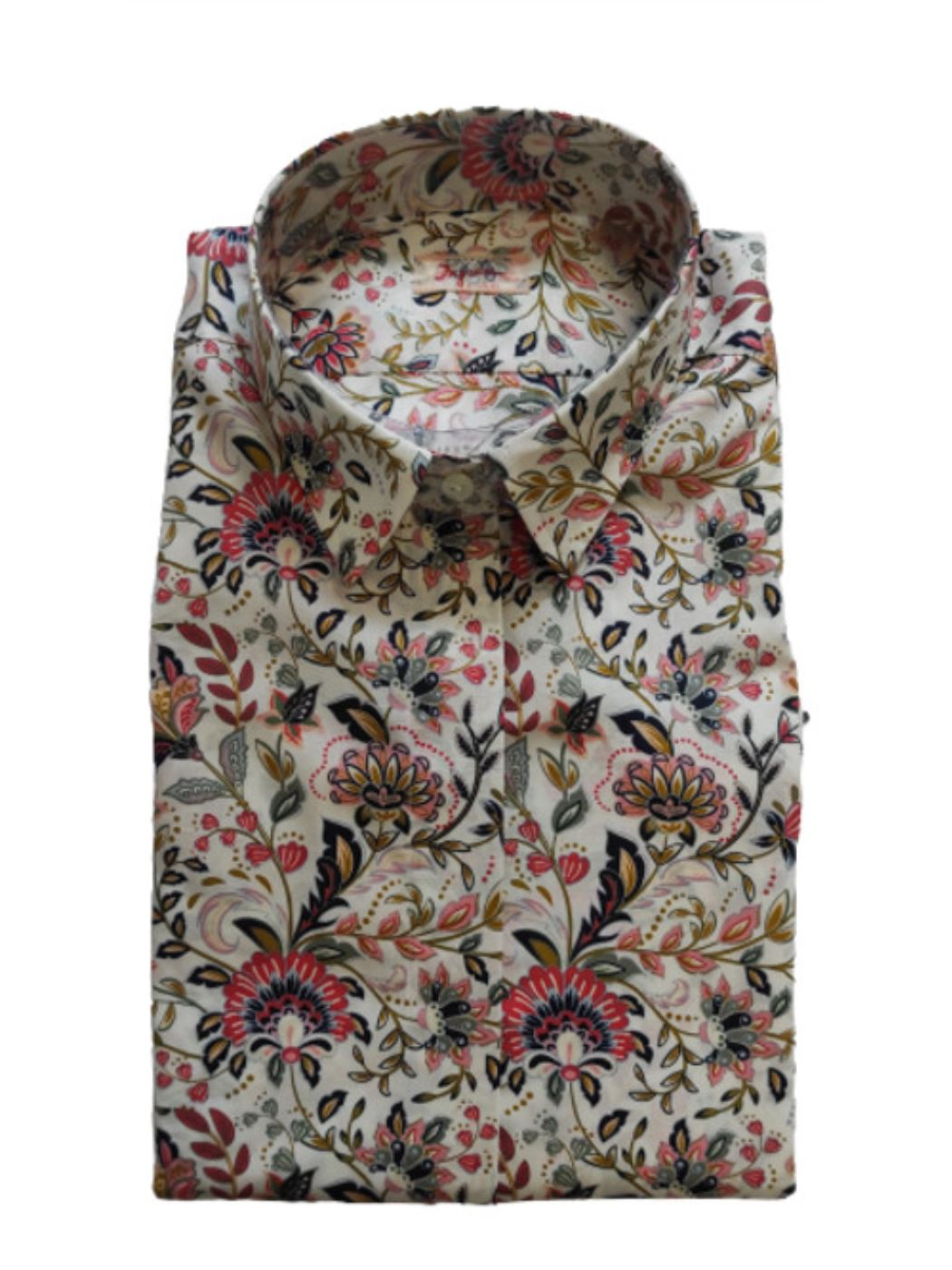 Camicia Donna Manica Lunga Fantasia IS5H061