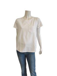 T-Shirt Donna Cotone con Taschino 31149