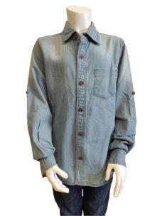 Camicia Manica Lunga Ragazzo 60J5064