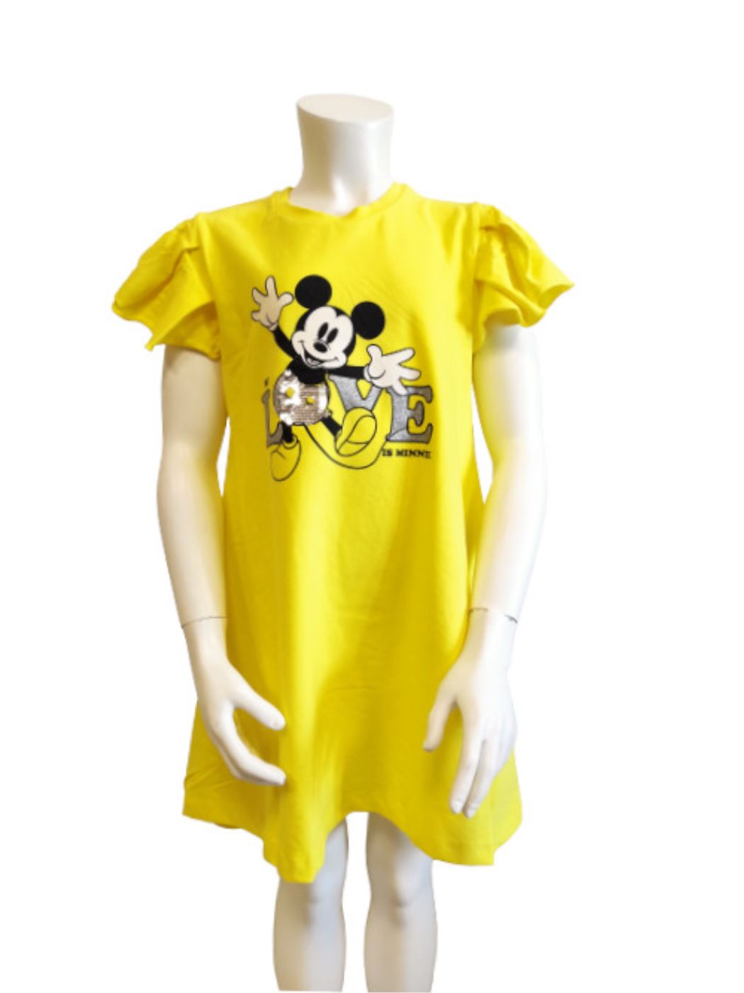 Short Sleeve Girl Dress