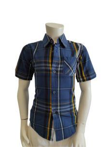 Camicia Manica Corta Bambino 61H7074