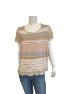 T-Shirt Donna Lurex Manica Corta C629