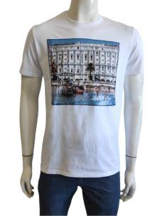 T-Shirt Uomo Manica Corta Con Stampa CANNES