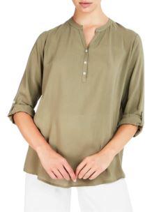 Camicia Serafino Manica Lunga Regolabile Donna D363SH