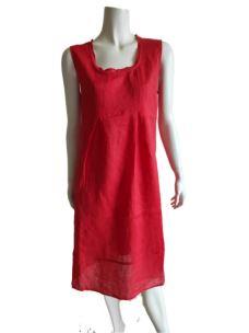 Vestito Donna Lino Colorato Estivo D407D2