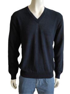 Maglia Uomo Cotone Scollo V Pullover H780V