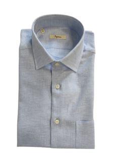 Camicia Uomo Manica Corta Inmedio Cotone Lino IH5H037