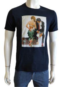 T-Shirt Uomo Manica Corta Con Stampa  PIT
