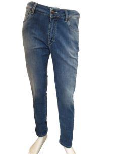 Pantalone 5 Tasche Denim Jeans Uomo PR202
